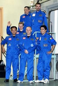 Foto hecha a los voluntarios del proyecto Mars500