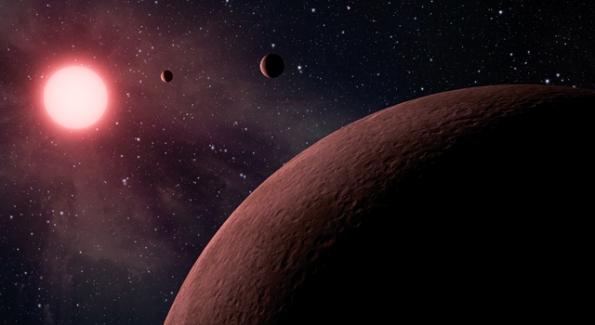 Recreación artística de los nuevos planetas descubiertos. NASA/JPL