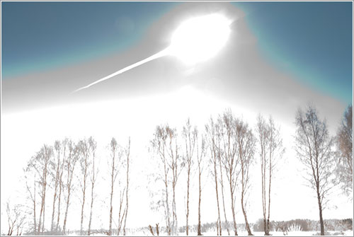 meteoroide de Chelyabinsk