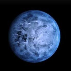El gigante gaseoso azul