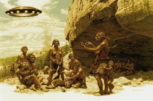 Extraterrestres en a prehistoria