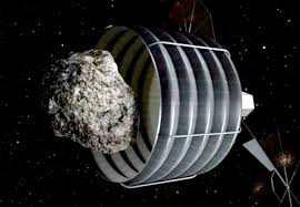 Captura del asteroide