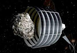 Captura del asteroide