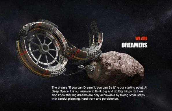 Así imaginan el futuro de la minería espacial en Deep Space Industries