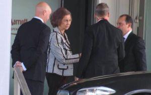 La Reina Sofía en la última reunión del Club Bilderberg