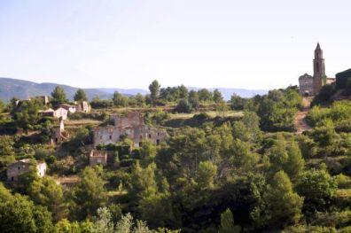 Marmellar, un pueblo abandonado rodeado de misterios