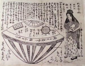 Antes de la aparición de los aviones,  extraños objetos volantes surcaron los cielos del mundo.