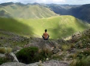 Cerro del Uritorco, cerca de la ciudad argentina de Córdoba, mítico lugar de peregrinación para las personas que buscan el encuentro con lo espiritual y el misterio.