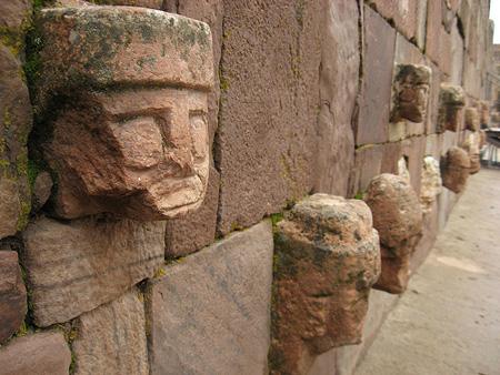 El poblado antiguo de Chavín en La Rosa de los Vientos
