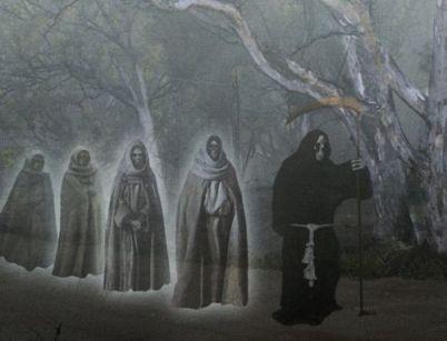 La Noche de los Difuntos fue protagonista en la radio del misterio del sábado al domingo.