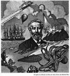 """Julio Verne en """"La Rosa de los Vientos"""""""