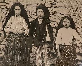 Los niños de la Virgen de Fátima