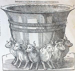Representación de la Mesa de Salomón